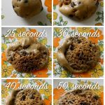 Microwave Cookie Dough Experiment with Just Cookie Dough
