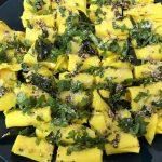Recipe of Quick Microwave Khandvi | Best Recipes Ideas