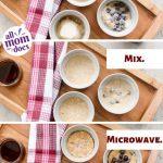 3-Minute Microwave Mug Pancake | allmomdoes