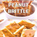 Microwave Peanut Brittle Recipe! Easy microwave Peanut Brittle Recipe! This  is a simple way to mak