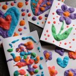 Homemade Puffy Paint Recipe with 3 Ingredients - Happy Hooligans
