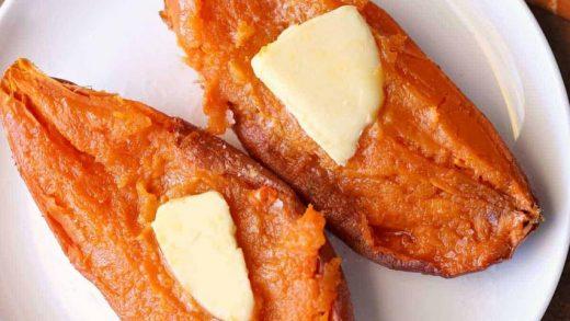 Microwave Sweet Potato: So Easy!   Healthy Recipes Blog