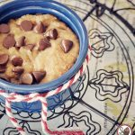 Microwave Chocolate Chip Cookie In A Mug - sweetest kitchen
