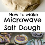 Microwave Salt Dough - In The Playroom