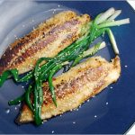 Globe trotting and persistence pay off: Tilapia with Miso and Scallions –  Blue Kitchen