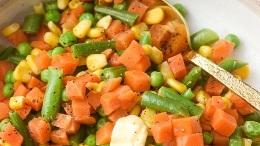 How to Make Instant Pot Frozen Veggies - Meal Plan Addict