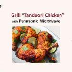 How to make Tandoori Chicken with Panasonic Microwave - YouTube