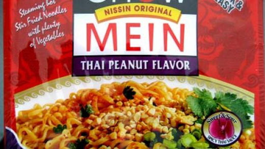 REVIEW: Nissin Thai Peanut Chow Mein - The Impulsive Buy