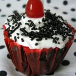 One-minute Vegan Microwave Black Forest Cupcakes |