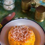 ORANGE SPONGE CAKE WITH JAM GLAZE / ORANGE COOKER CAKE
