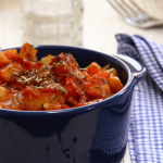Delicious Roasted Potatoes in Tomato Sauce   The Smashed Potato
