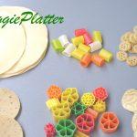 Veggie Platter: Roasting Papads & Fryums in the Microwave