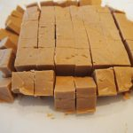 Microwave Peanut Butter Fudge - Pies and Plots