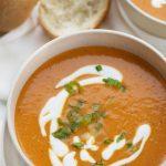 Roasted Red Pepper Soup - I Am Homesteader