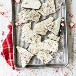 Homemade chocolate peppermint bark - Foodness Gracious