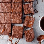 Perfect Fudgy Gluten Free Brownies | Chelsea Joy Eats