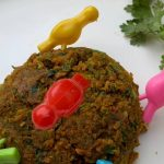 Kothimbir Vadi in microwave Recipe by Shruti Raman( legendet100) - Cookpad