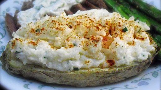 Twice-Baked Potatoes (Microwave) Recipe - Food.com