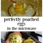 Poached Eggs in the Microwave - Frugal Hausfrau