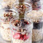 Make Ahead Instant Oatmeal Jars