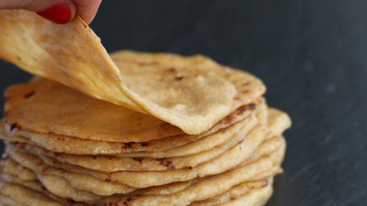 Plantain Tortillas are the perfect Paleo Corn Tortilla substitute!