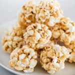 EASY Caramel Popcorn Balls (made in the microwave!) - I Heart Naptime