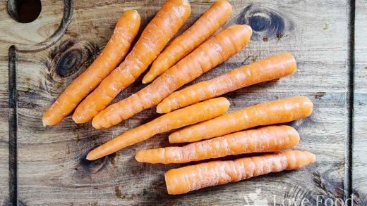 Microwave Steamed Carrots   Quick and easy recipe   Love Food Not Cooking