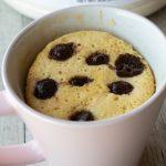 Protein Chocolate Chips Mug Cake - The Cookware Geek