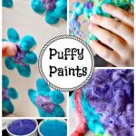 Microwave Puffy Paint - Messy Little Monster