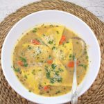 Pumpkin Ravioli Soup #SoupSwappers – Palatable Pastime Palatable Pastime