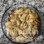 Easiest Roasted Pumpkin Seeds Ever!   Grace.Faith.Dirt