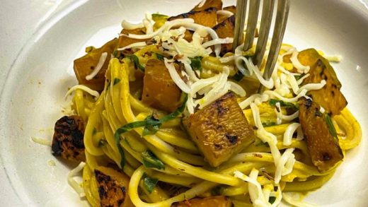 Pumpkin & Spinach Pasta   Low Oil Cookbook