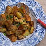 Microwaving gives Skillet Potatoes a head start – Blue Kitchen
