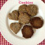 Ragi Almond Cookies (Pressure Cooker and Microwave Oven Method)