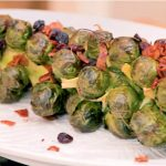 Bacon and Cranberry Roasted Brussels Sprouts Recipe | Food Channel
