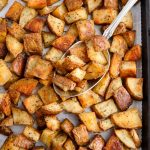 Easy Roasted Potatoes - vegan, gluten-free, and consistently on-point!