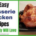 10 Easy Rotisserie Chicken Recipes Your Family will Love   Happy Mom Hacks