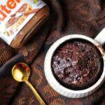 2-minute Microwave Nutella Mug Cake   ET Food Voyage