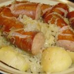 Polish sausage, Sauerkraut and potatoes ( CROCKPOT ) | Delish Cooks