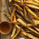 Air Fryer Salt and Vinegar French Fries - I Am Homesteader