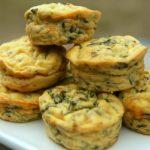 Savory Swiss chard and cheese muffins – Salt & Paprika