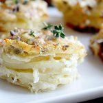 Parmesan Scalloped Potato Stacks • Steele House Kitchen