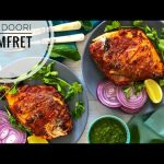 Tandoori pomfret Recipe । Grilled Pomfret Recipe   Pomfret Fish Fry   Fish  Fry - YouTube