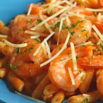 How to make 5-Minute Shrimp Pasta with Red Sauce   Just Microwave It
