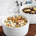 Microwave Single-Serve Bread Pudding - Cupcake Diaries