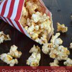Snickerdoodle Popcorn - Amber Simmons