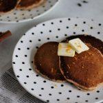 Winter Spiced Sourdough Overnight Pancakes - The Ginger Bread Girl