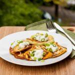 Fried Patty Pan Squash Recipe {GF, DF} - Avocado Pesto