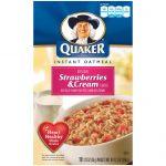 Just Like Quaker Strawberries & Cream Oatmeal - Jen Saves