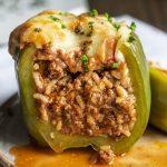 Stuffed Peppers - I Am Homesteader